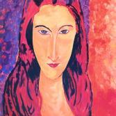 Jeanne - nach Modigliani