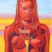 Himba Schönheit - Tjizire