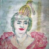 Clown nach Toulouse Lautrec