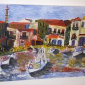 Hafen von Rethymnon/Kreta