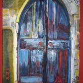 Antike Tür auf Kreta