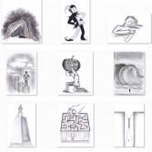 Illustrationen-Reihe-Paraden-VI-46-54
