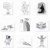 Illustrationen-Reihe-Paraden-IV-28-36