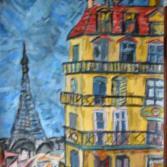 Paris, Hôtel mit Eiffelturm