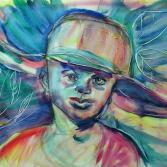 Junge mit Hut