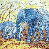 Blaue Elefanten