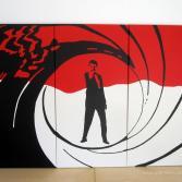 007 - Gun Barrel Red - Pop Art