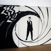 James Bond - 007 - POP ART