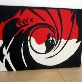 POP ART 007 James Bond