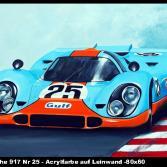 Porsche 917 Nr 25 Gulf Porsche