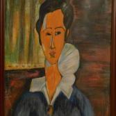 Anna (Hanka) Zborowska nach Amadeo Modigliani