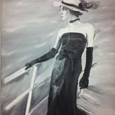 Titanic Lady