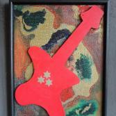 Original Bild Abstrakt Acryl Deko Wand Kunst Art Design Leinwand signiert