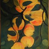 Acrylbild Äpfel