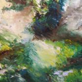 Baum in Bewegung - abstrakt