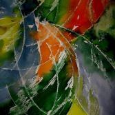 Abstraktes Aquarell