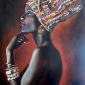 "Series ""Sirens"". African Latonia."
