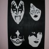 Simmons,Frehley,Criss und Stanley