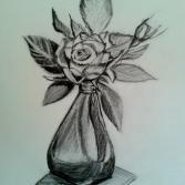 Rosen in Vase