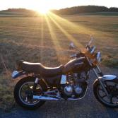 Z550's Sunset with Martin