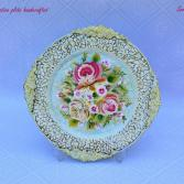 Decorative plate handcrafted