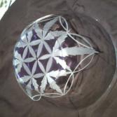 CANNABIES SCHÜSSEL in Kombination mit der heiligen Geometrie