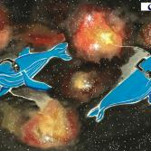 whales in cosmos