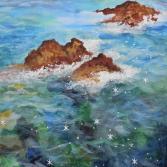 Meer und Felsen 1