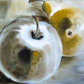 Apfel mit Birne