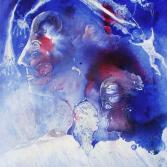 VU 137 Kopf in Blau