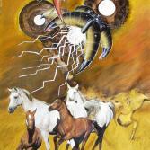 VU 18 Galoppierende Pferdeherde 2