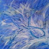 "Acrylgemälde ""Meer des Lebens"""