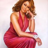 Porträt Whitney Houston