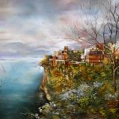 Romantische Landschaft