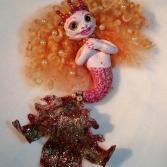 Rote Meerjungfrau