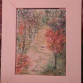 Alleebäume  im Herbst