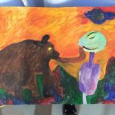 Bär liebt arroganten Mann - Bear loves arrogant man