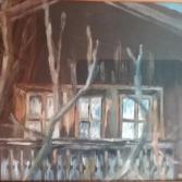 Bauernhausfenster