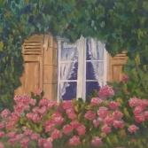 Fenster eines Landsitzes