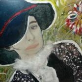 Dame mit Hut (Ausschnitt)