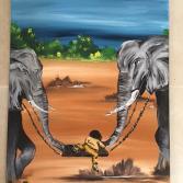 Elefantenschaukel