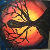 """Acrylgemälde """"The other Side of Love"""""""