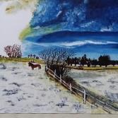 Winter-Landschaft um Uetze
