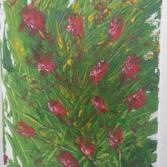 "Acrylgemälde ""Power of Spring"""