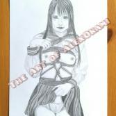 NUDE ART: BONDAGE SCHOOLGIRL I