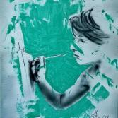 Beim malen