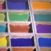 Farbpulver