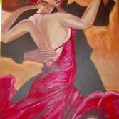 Die Salsa Tänzerin
