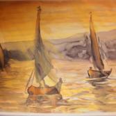 Boote auf dem Nil