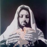 Jesus beim Abendmahl